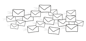 Spam dans les emails