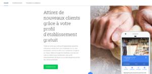 Création de la Google business fiche - AlaiseNet