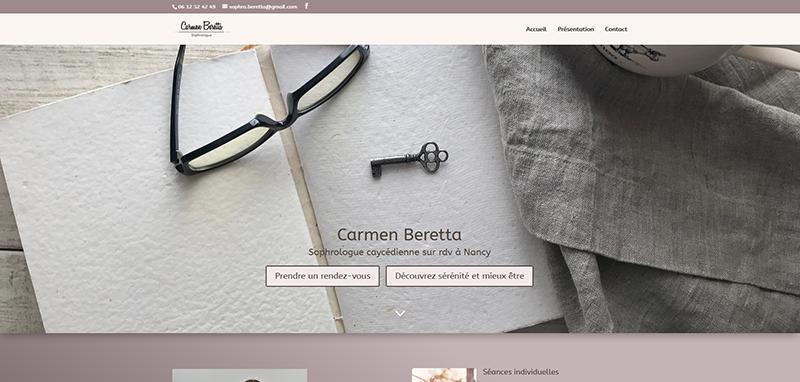 Carmen Beretta sophrologue par AlaiseNet
